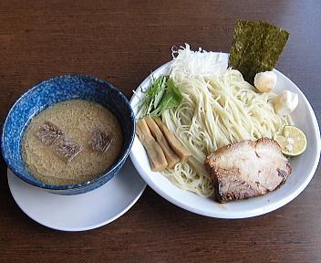 来味弁天橋通店 冷製のつけ麺(細麺・大盛)