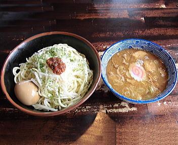 ぶしや 味玉味噌つけ麺