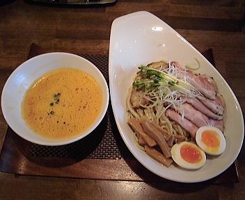 赤シャモジ新潟東店 特製濃熟味噌つけめん