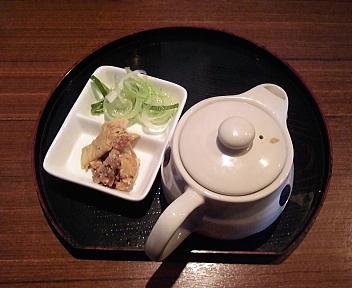 風天 つけ麺(特盛)割スープ
