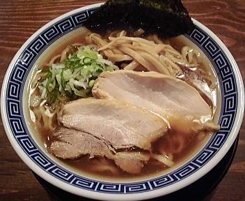 八っちゃんラーメン 煮干し中華そば(小)