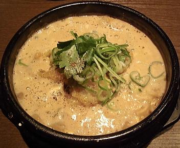 あしら 穴子の柳川鍋麺(大盛)