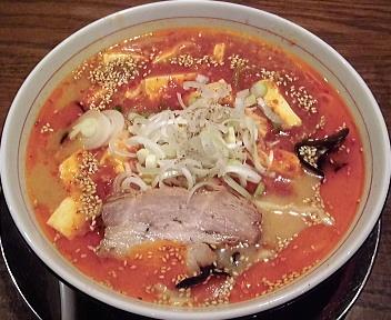 武蔵笹口店 辛味噌麻婆麺