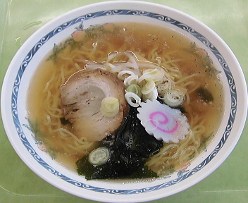 新潟市役所本館食堂 醤油ラーメン
