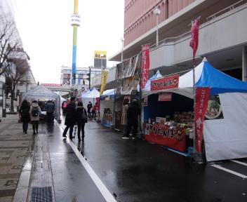 にいがた 冬 食の陣 当日座 万代シティ会場