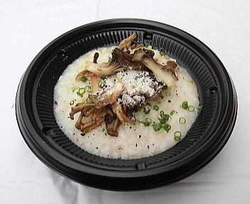 にいがた 冬 食の陣 当日座 県産マイタケの酒米リゾット