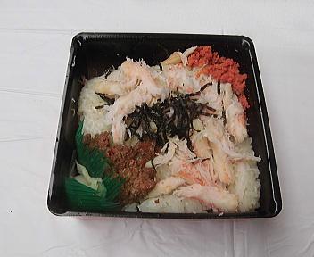 にいがた 冬 食の陣 当日座 ずわい蟹ご飯