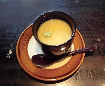 ICHIE 和食Aランチ 白魚の茶碗蒸し