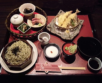 吟の蔵 天ぷら・蕎麦御膳