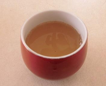 刺巻湿原の水ばしょう群生地 椎茸茶