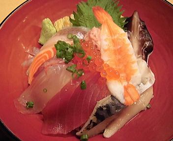 鮨寿 日替り海鮮丼 アップ