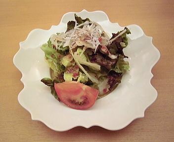 うをくら のどぐろフライ定食 サラダ