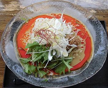火山新松崎店 冷やし担々麺
