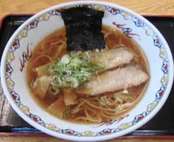大積パーキングエリア(上り) 醤油ラーメン