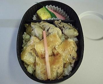 牡蠣と炙り煮あなご弁当