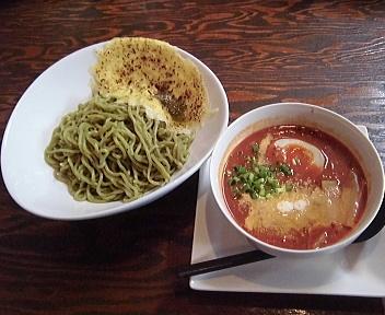 海老寿DELUX 濃厚えびトマトつけ麺