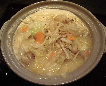 土鍋屋 土鍋白いタンメン