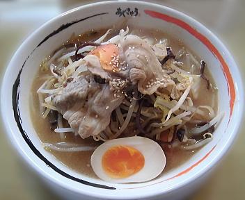 Aji-Q田沢湖店 肉みそ野菜ラーメン