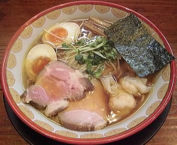 神楽 比内地鶏ラーメン+α