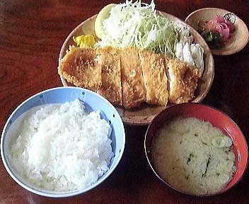 銭形柏崎店 チキンカツ定食