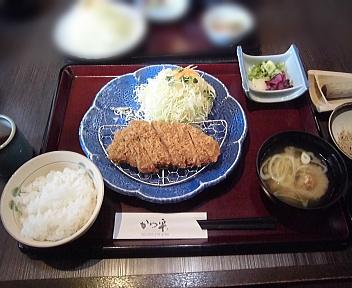 かつ平 とんかつ定食(小)