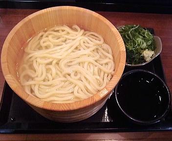 丸亀製麺新潟河渡店 釜揚げうどん(得・2玉)