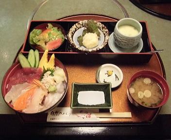 鯛家 海鮮丼ランチ