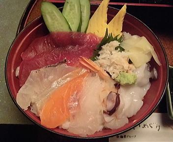 鯛家 海鮮丼ランチ アップ