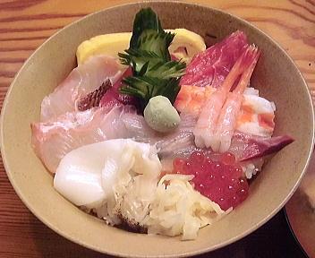 和楽寿司 和楽ちらし アップ