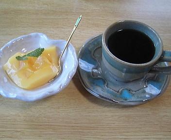 本ん万 ランチ(デザート&コーヒー)