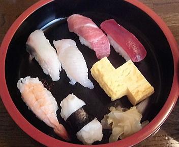中川 すし懐石 握り寿司