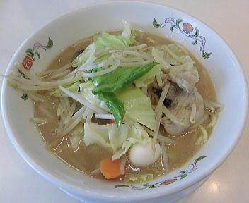 餃子の王将新潟近江店 チャンポン