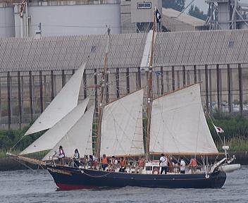 帆船Ami アップ