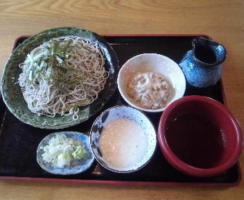 田か乃 納豆山かけそば(大盛)