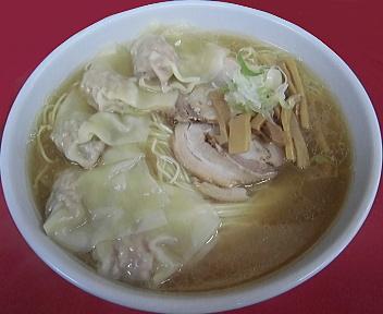 来味東掘店 ワンタン麺(5個入、特盛)