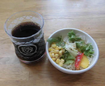 ポポロマーマ新潟出来島店 ドリンク1杯+ミニサラダ