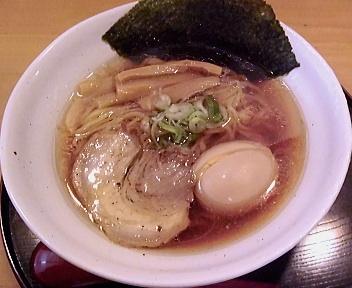 わらふく 醤油ラーメン+味玉