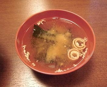 とんかつ 太郎新潟古町 わかめ汁
