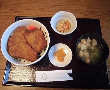 Sanjiro 朝日豚のヒレカツ丼(たれ)