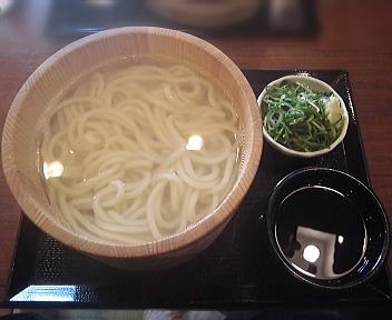 丸亀製麺新潟河渡店 釜揚げうどん特