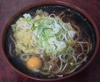 塚田そば店 大盛天玉そば