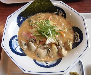 リンガーハット新潟河渡店 かきちゃんぽん