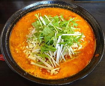 かなみ屋松崎店 エビチリチーズの担々麺