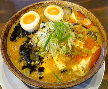 ふじの東中野山店 漢麻婆+味玉