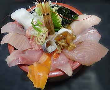 どと~んと日本海 海鮮ちらし