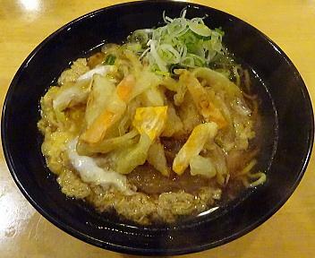 越善 天ぷら卵とじ中華