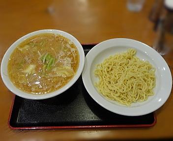 六綵亭 みそラーメンつけ麺風