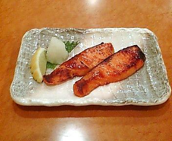 秋鮭の西京みそ焼き