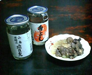 熊肉料理と秋田地酒