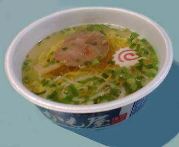 かも屋 カップ麺(調理後)